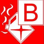 Feuerlöscher - Brandklasse B