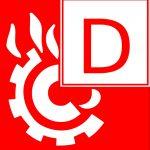 Feuerlöscher - Brandklasse D